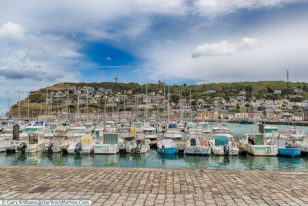 The harbour at Fécamp, Normandy, France