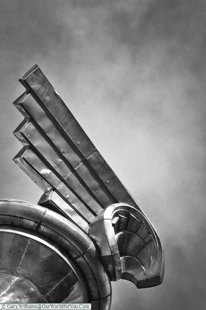 Detail from the Chrysler Building, Manhattan, New York, USA