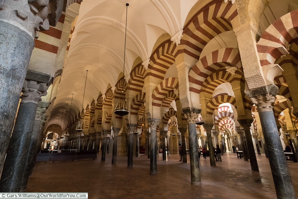 The scale is amazing, Mezquita – Mosque–Cathedral, Córdoba, Spain