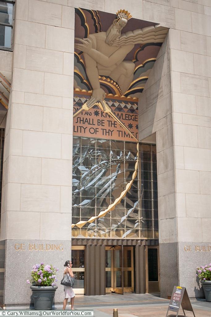 The G.E Building, Manhattan, New York, USA
