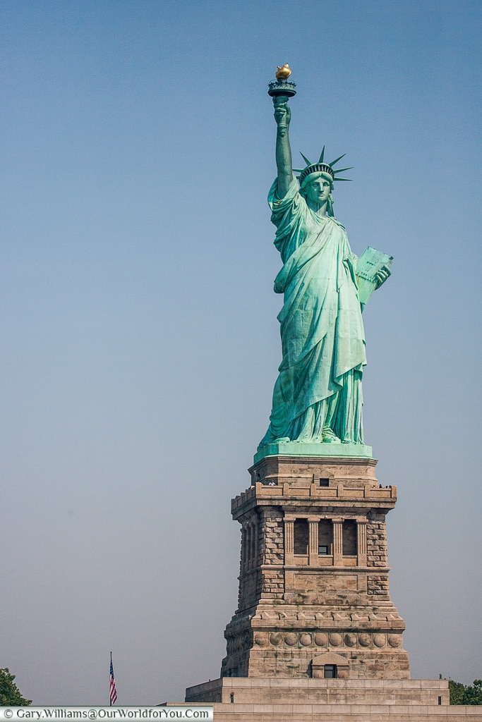 The Statue of Liberty, Manhattan, New York, USA