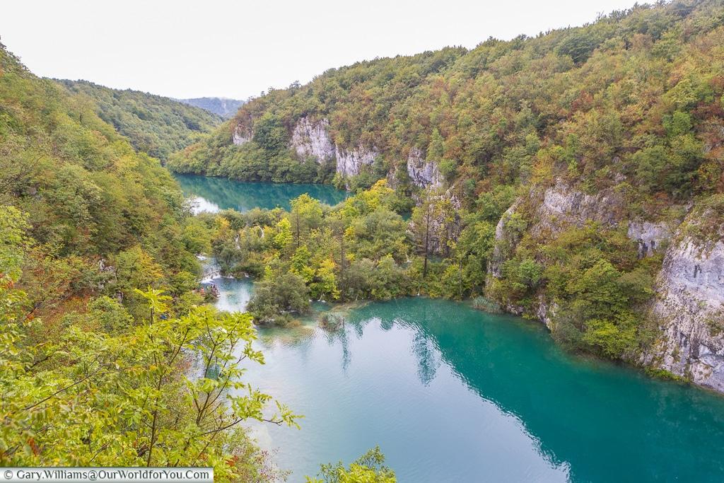 Calm waters, Plitvice Lakes, Croatia