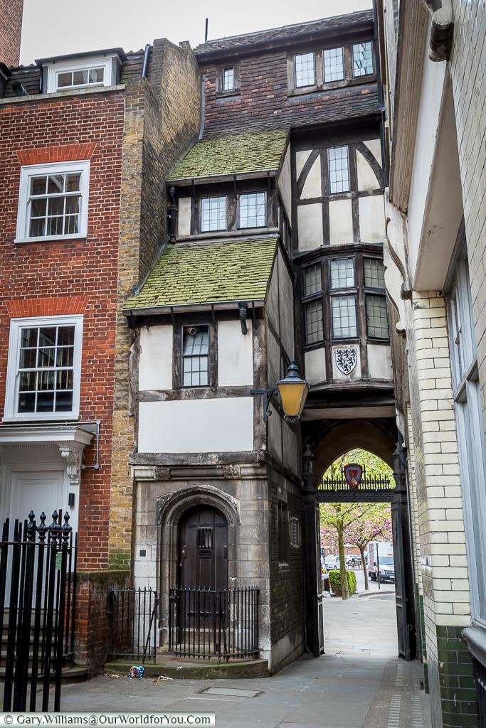 Historic Lanes, City of London, London, England, UK
