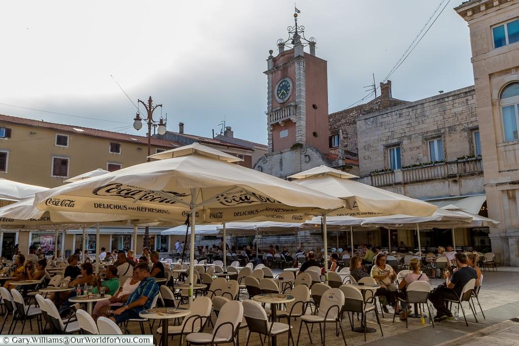 Peoples Square, Zadar, Croatia