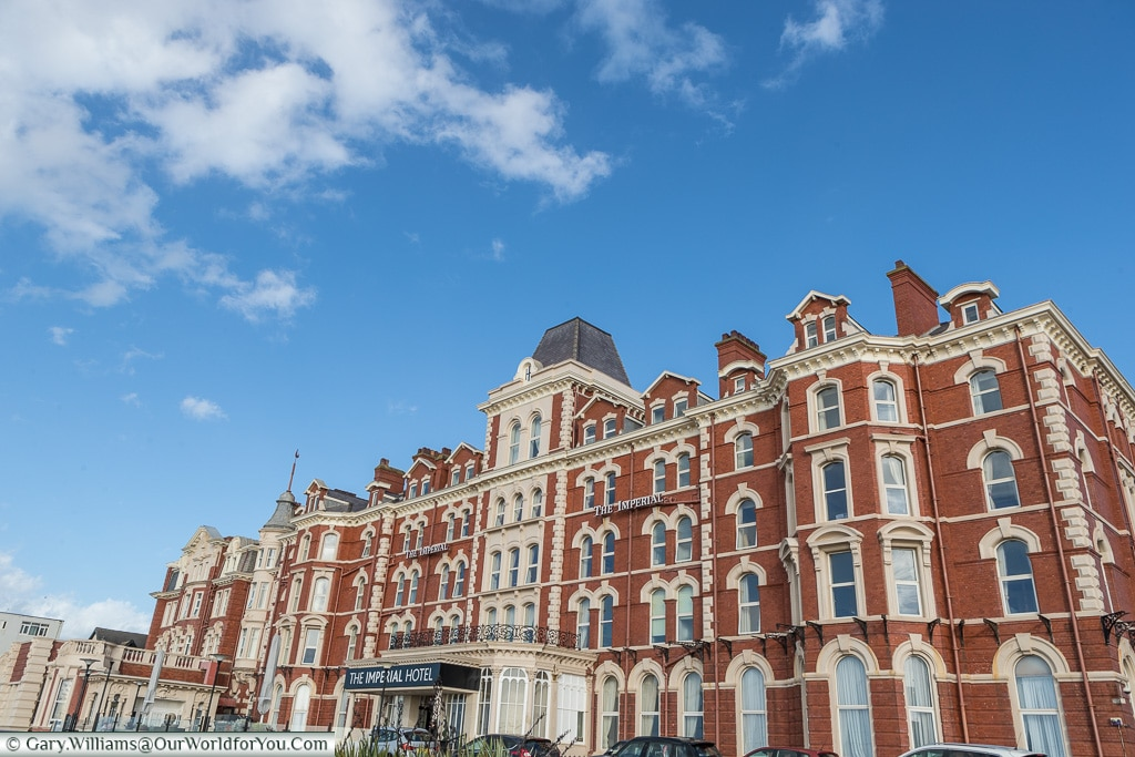 The Imperial Hotel, Blackpool, Lancashire, England, UK