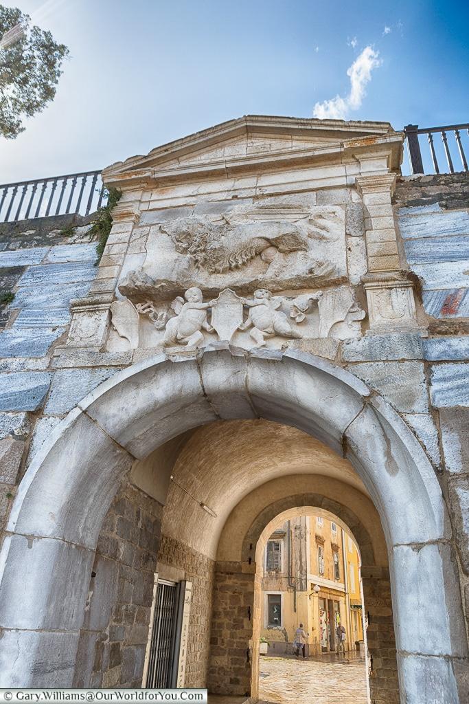 The Sea Gate, Zadar, Croatia