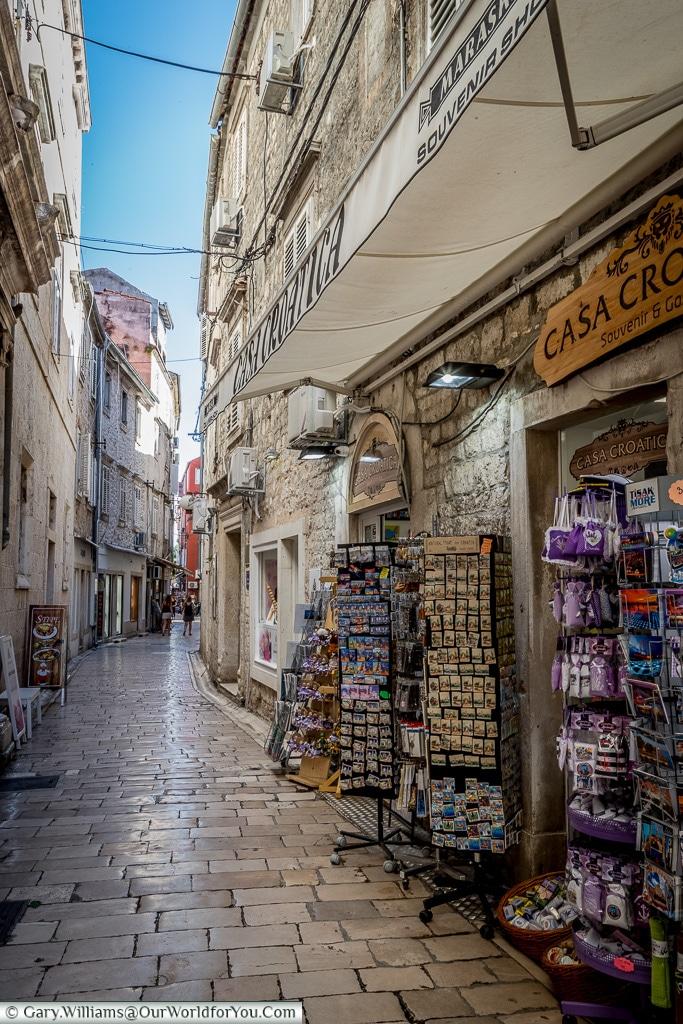 The lanes, Zadar, Croatia