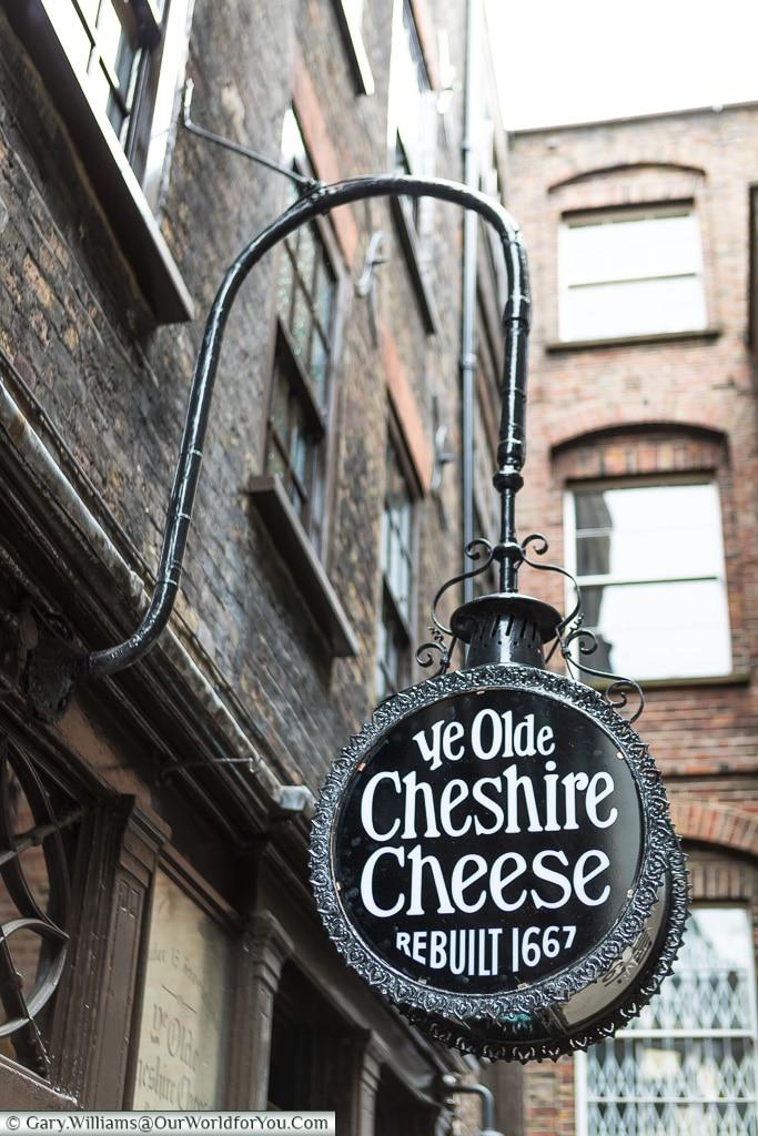 Ye Olde Cheshire Cheese, City of London, London, England, UK