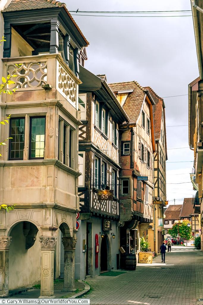 Intriguing Lanes, Obernai, Alsace, France