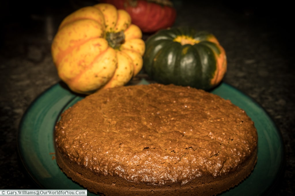 Parkin; the autumn  spiced cake from the North of England
