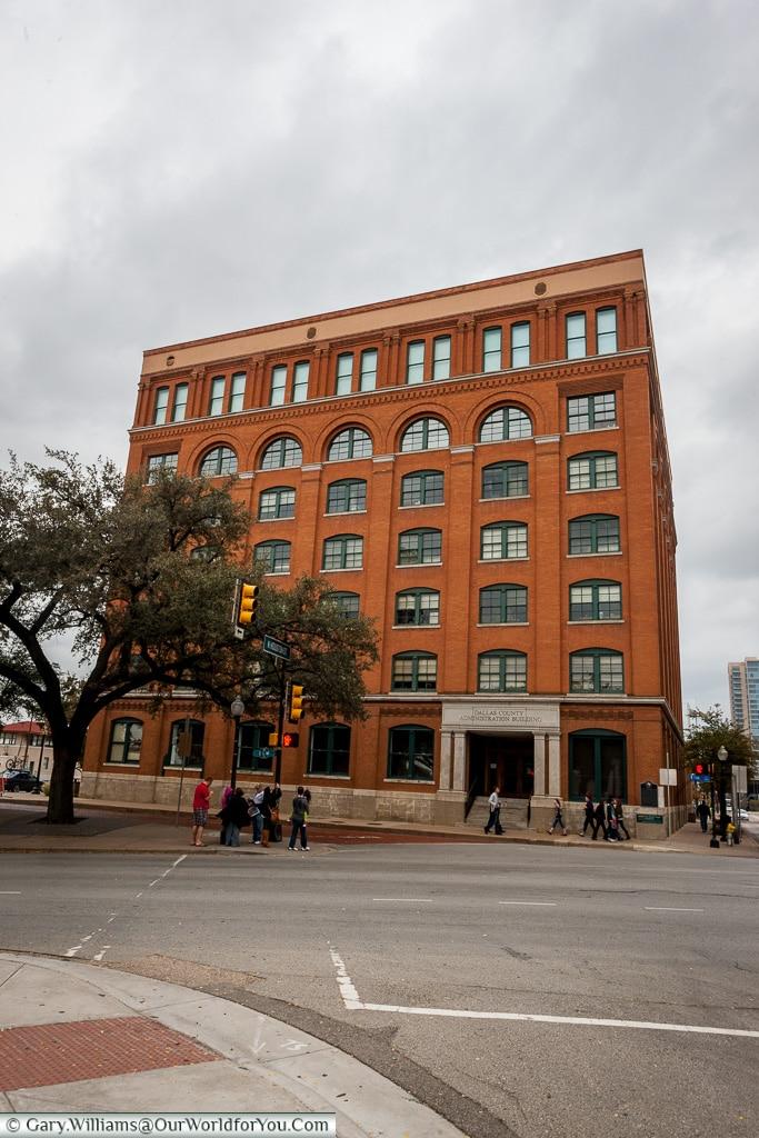 The Book Depository, Dallas, Texas, America, America, USA