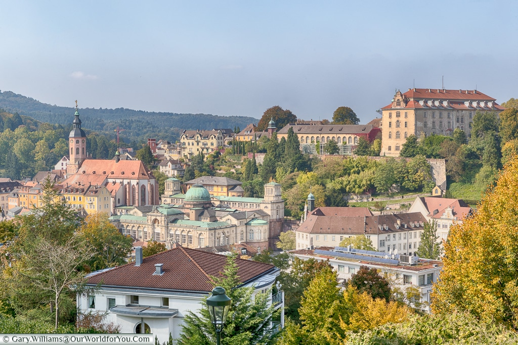A view over Baden-Baden, Germany