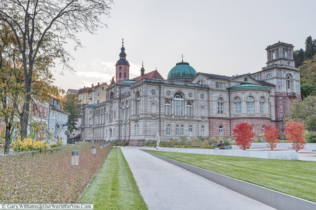 The Friedrichsbad bathing palace, Baden-Baden, Germany