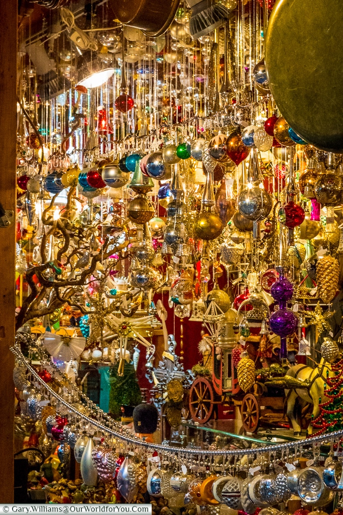 Vintage ornaments, Munich, Germany