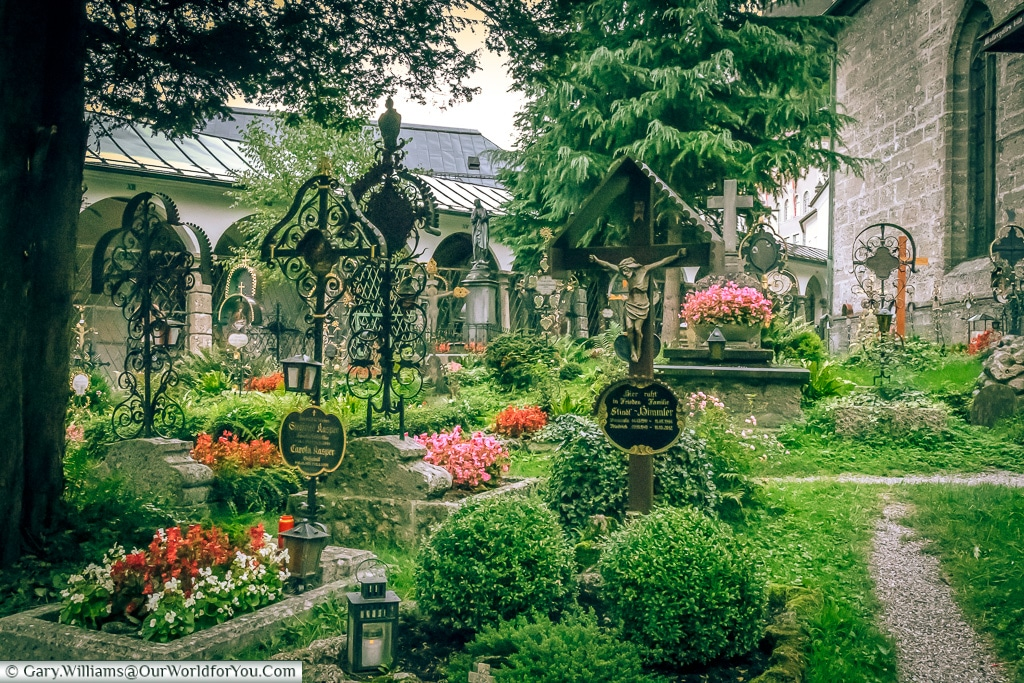 Among the graves, Salzburg, Austria