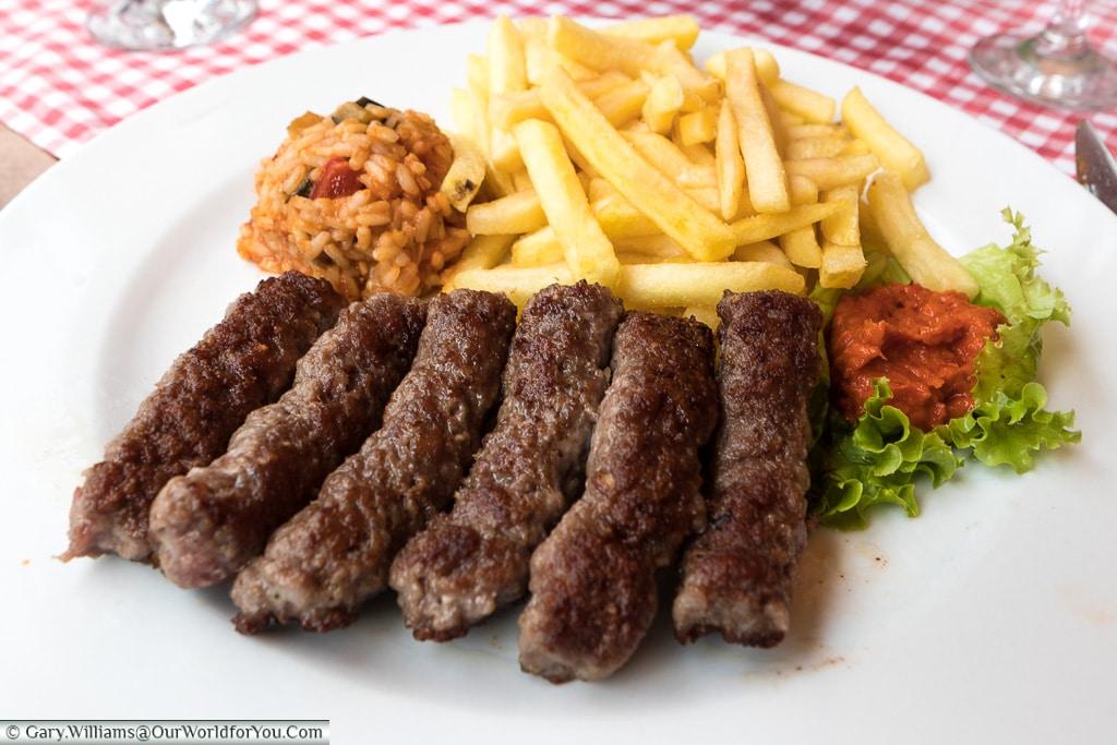 Čevapi, Croatian Food