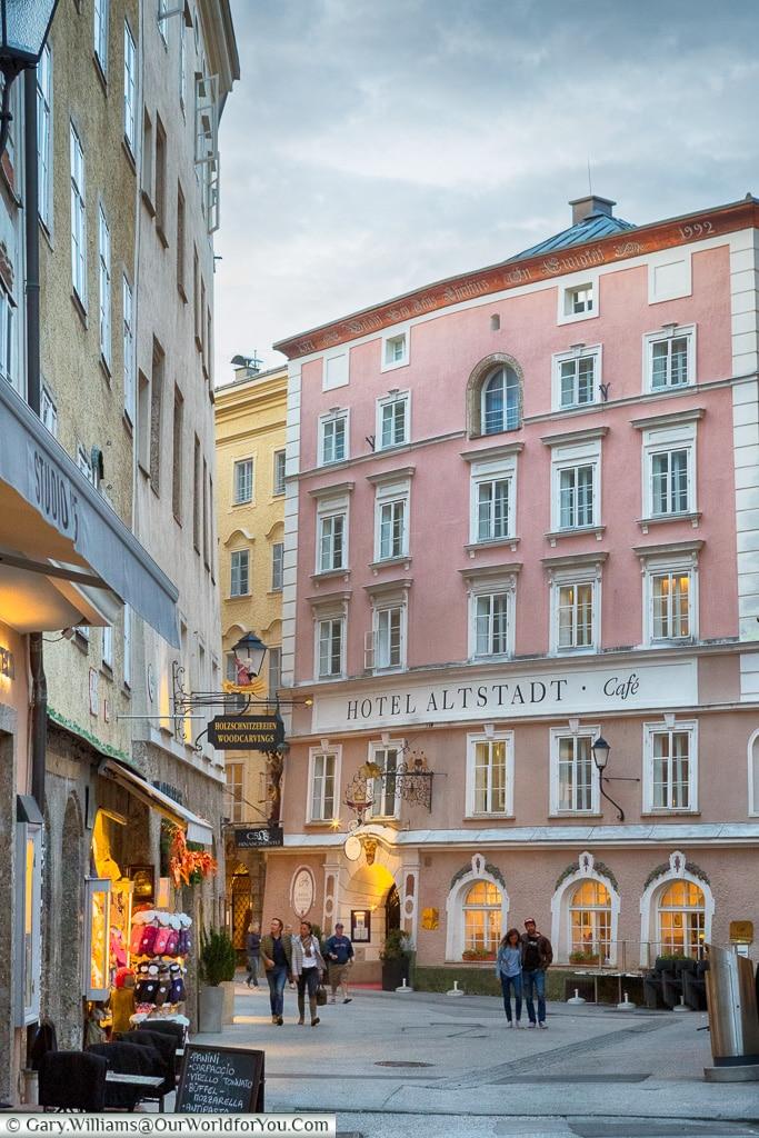Hotel Altstadt, Salzburg, Austria