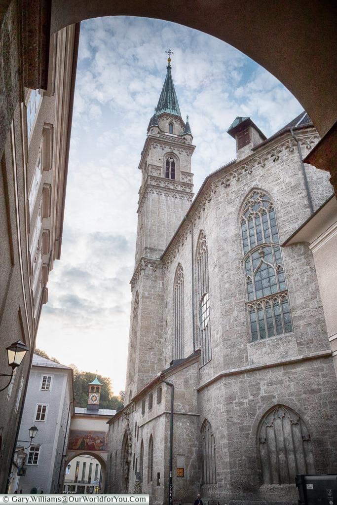 The Franciscan Church, Salzburg, Austria