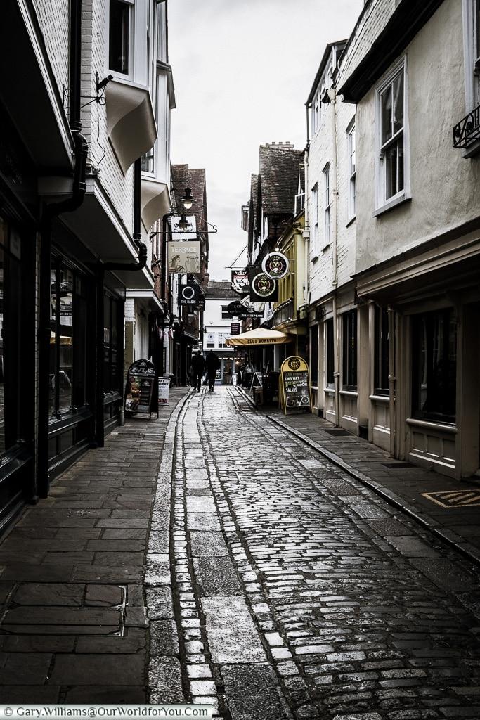Butchery Lane, Canterbury, Kent, England, UK