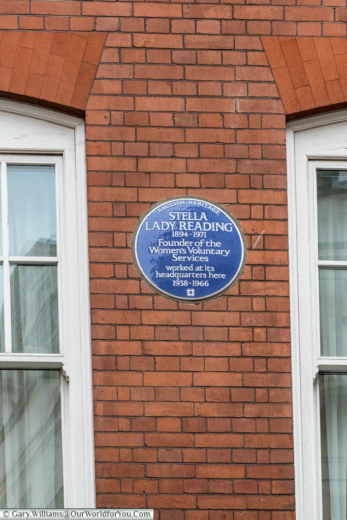 One of the 2017 additions, Blue Plaques, London, England