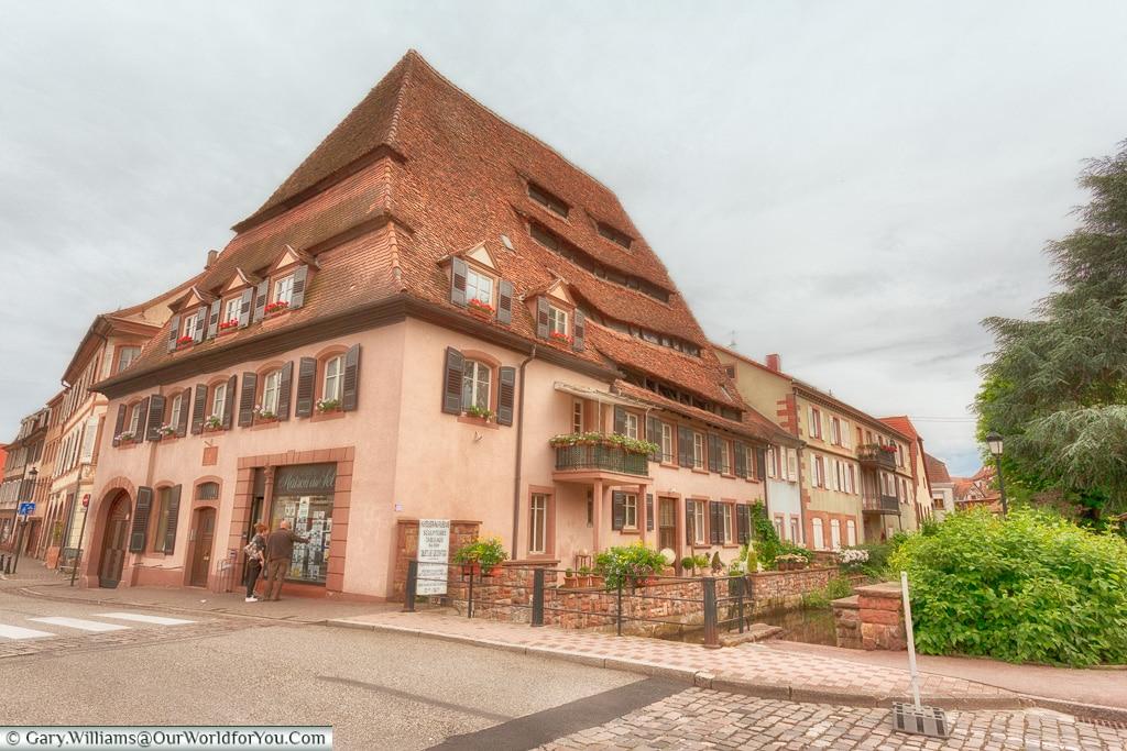 The Maison du sel of Wissembourg, Alsace, France