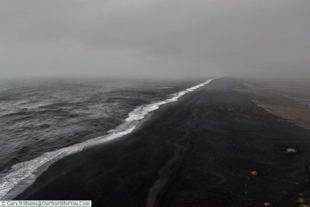 The black beaches of south Iceland