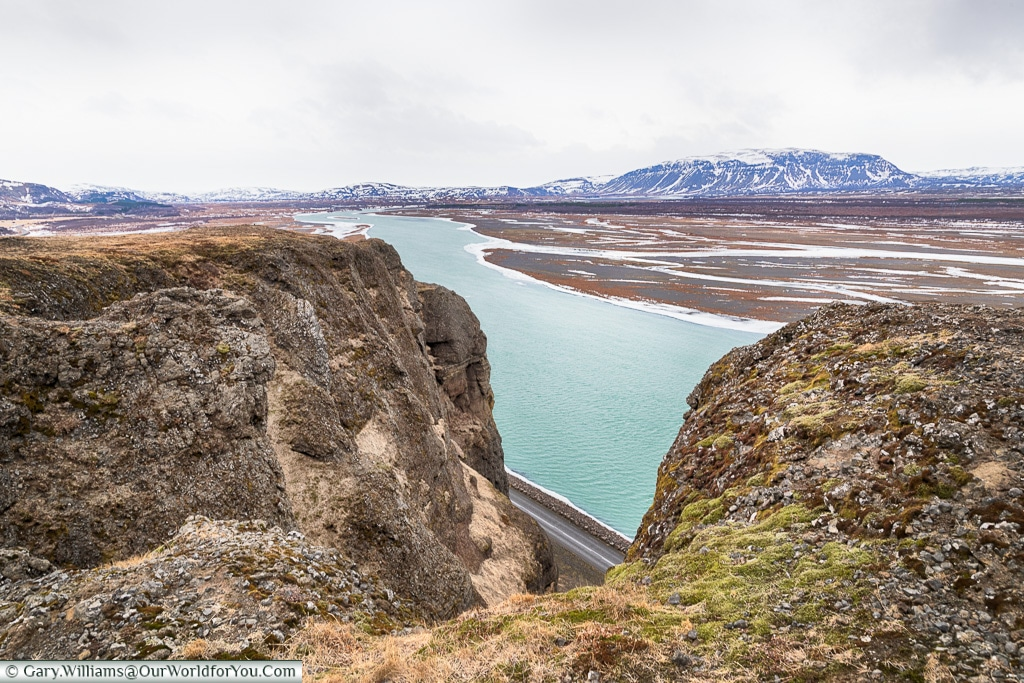 The view from on high, Iceland