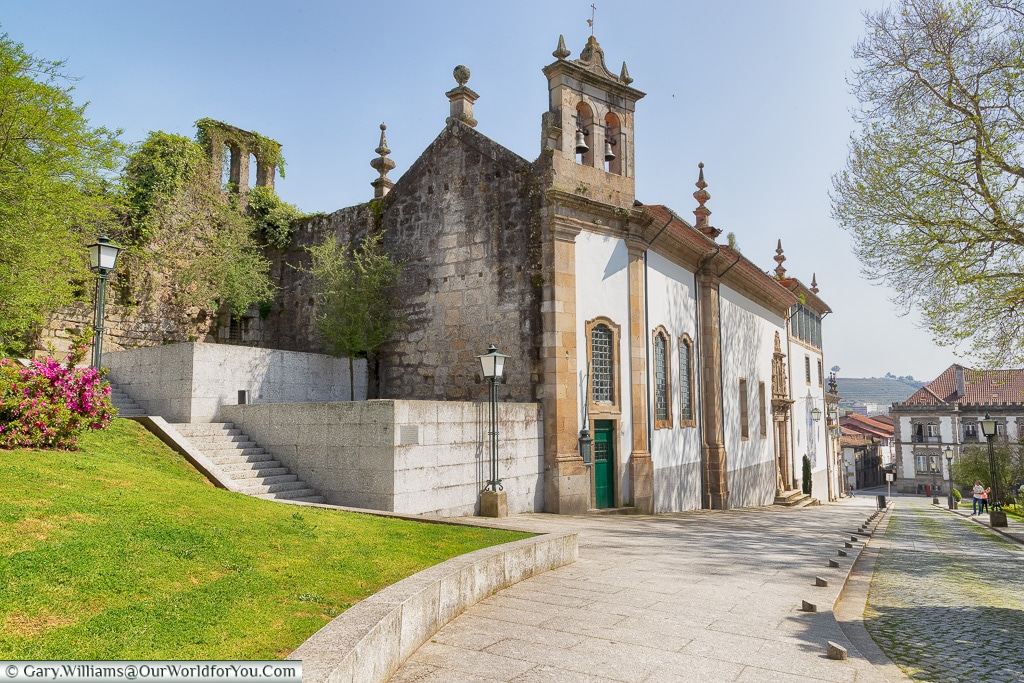 The convent in Guimarães, Portugal