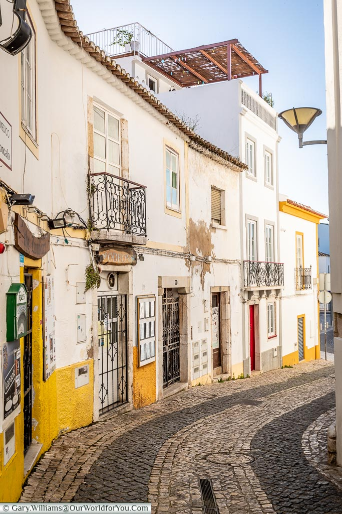 Following the tiled lanes of Lagos, Algarve, Portugal