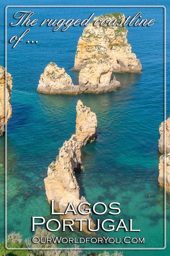 Lagos, Portugal & its rugged coastline