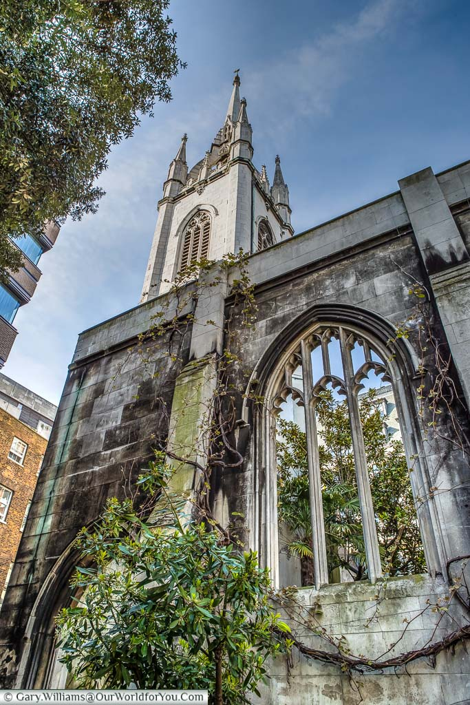 St Dunstan-in the East, City of London, London