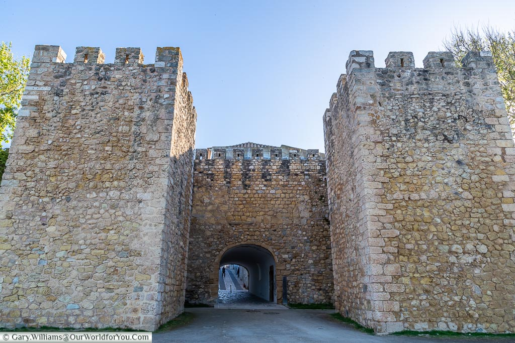The castle gates of Lagos, Algarve, Portugal