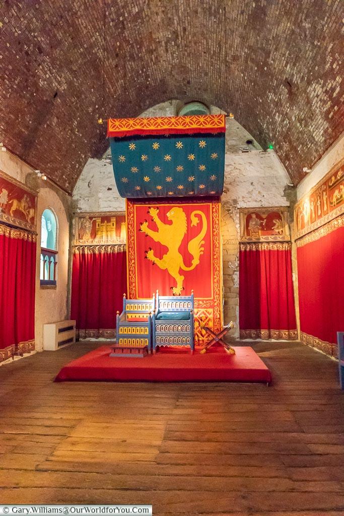 Grand Halls, Dover Castle, Dover, Kent, England