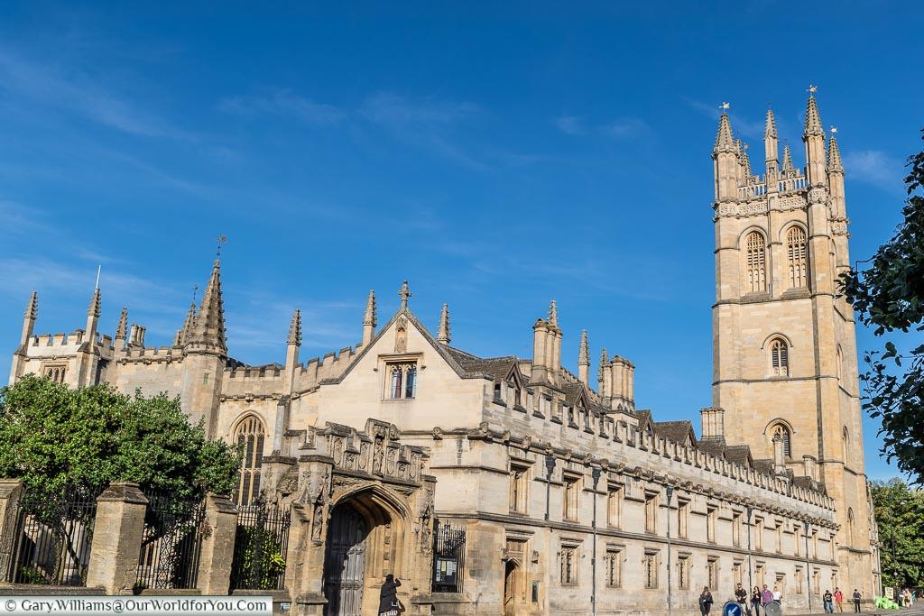 Magdalen College, Oxford, England, UK