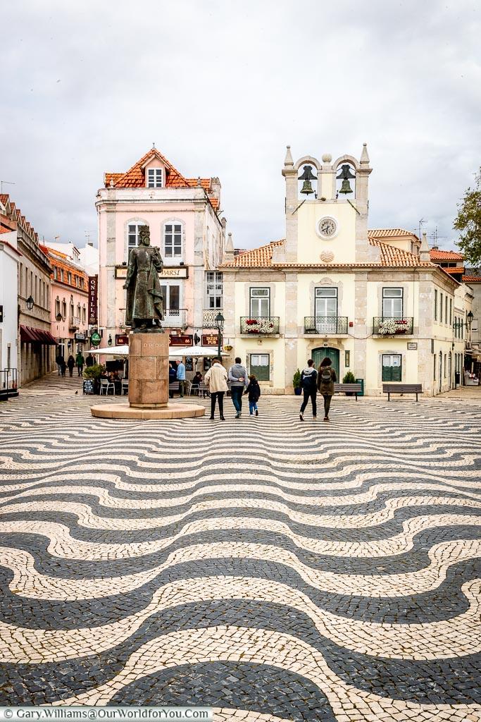 Praca 5 de Outubro, Cascais, Portugal