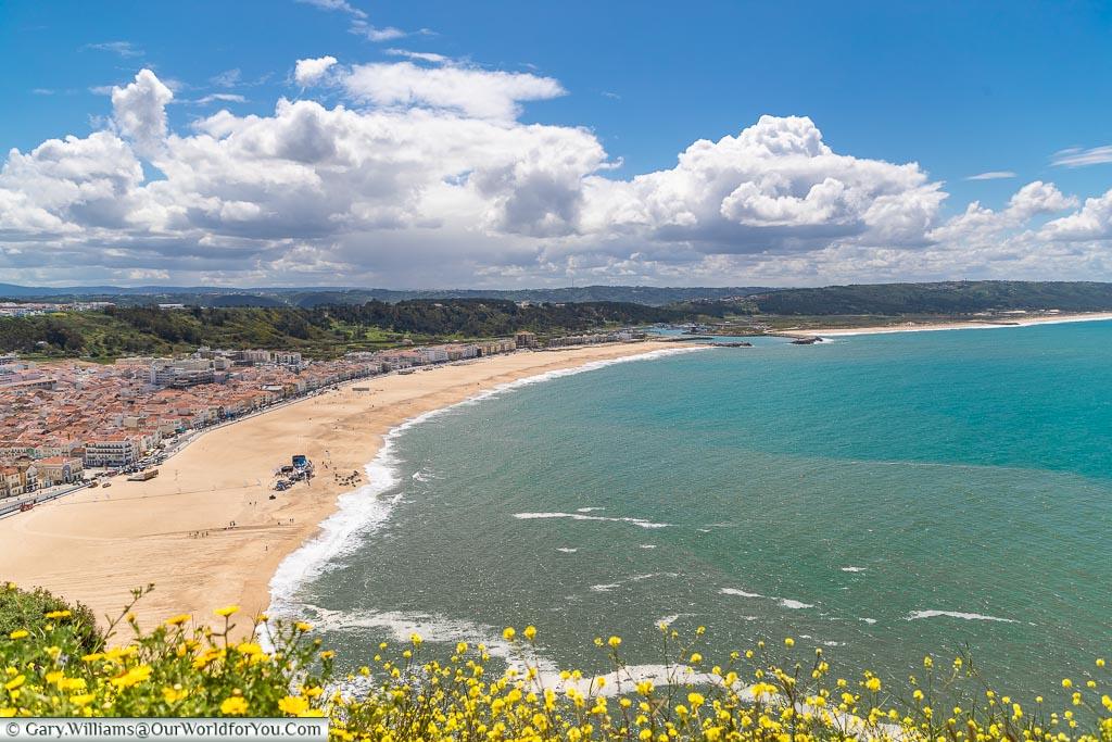 Praia da Nazaré, Portugal