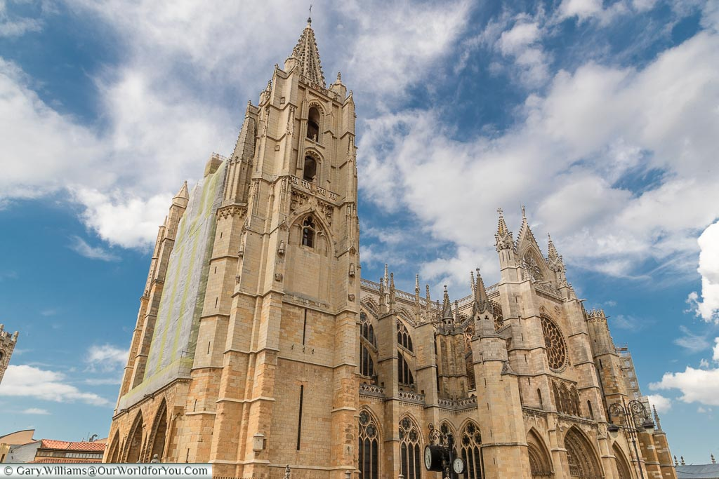 The Cathedral at León, Spain