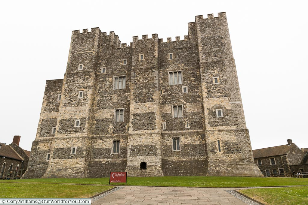 The Great Keep, Dover Castle, Dover, Kent, England