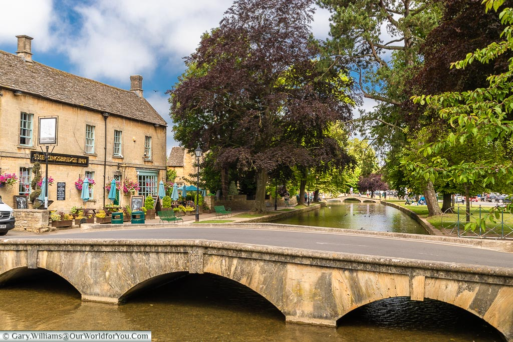 The Kingsbridge Inn, Bourton-on-the-Water, Gloucestershire, England, UK