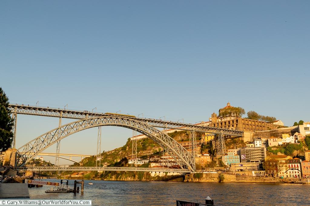 The Luís I Bridge - Ponte Luís I, Porto, Portugal