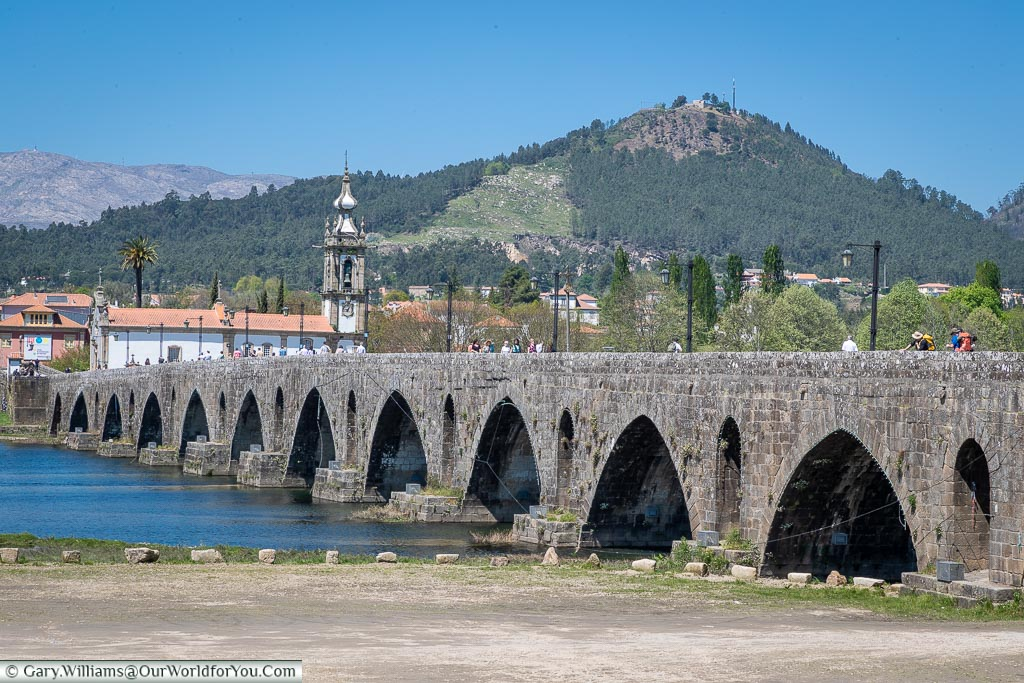 The Roman bridge, Ponte de Lima, Portugal