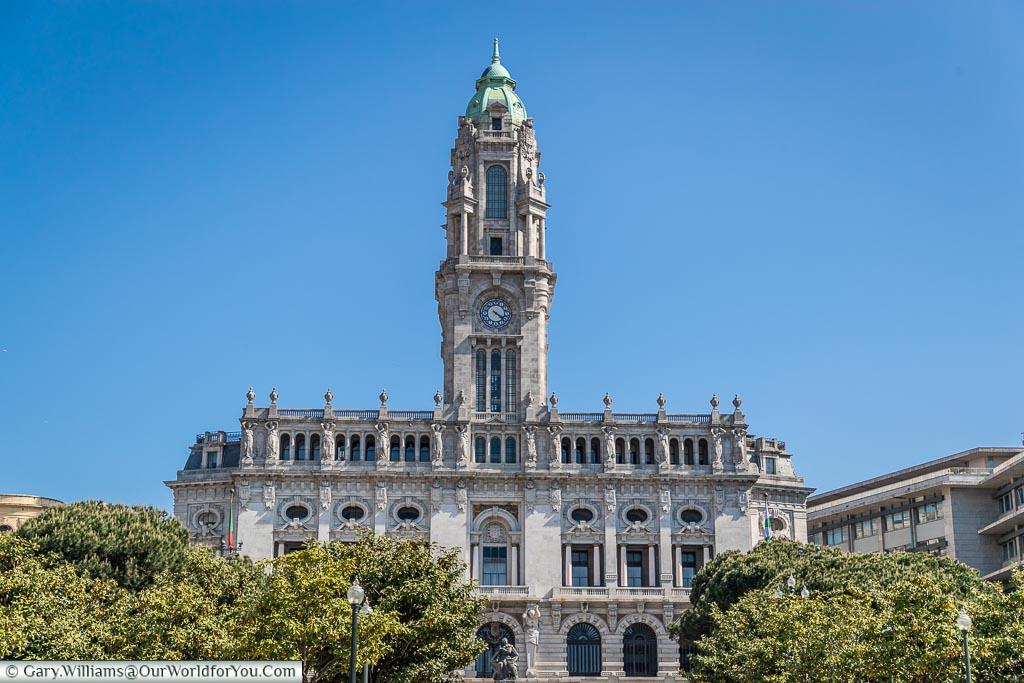 The Town Hall, Porto, Portugal