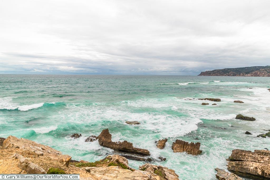 The bay at Praia da Cresmina, Portugal