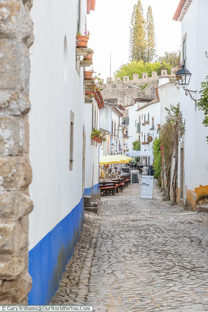 Away from the crowds, Óbidos, Portugal