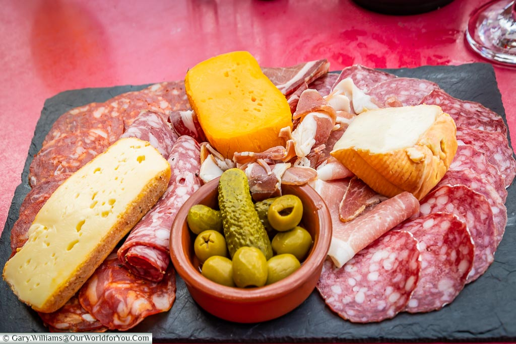 Lunch Platter, Amiens, France