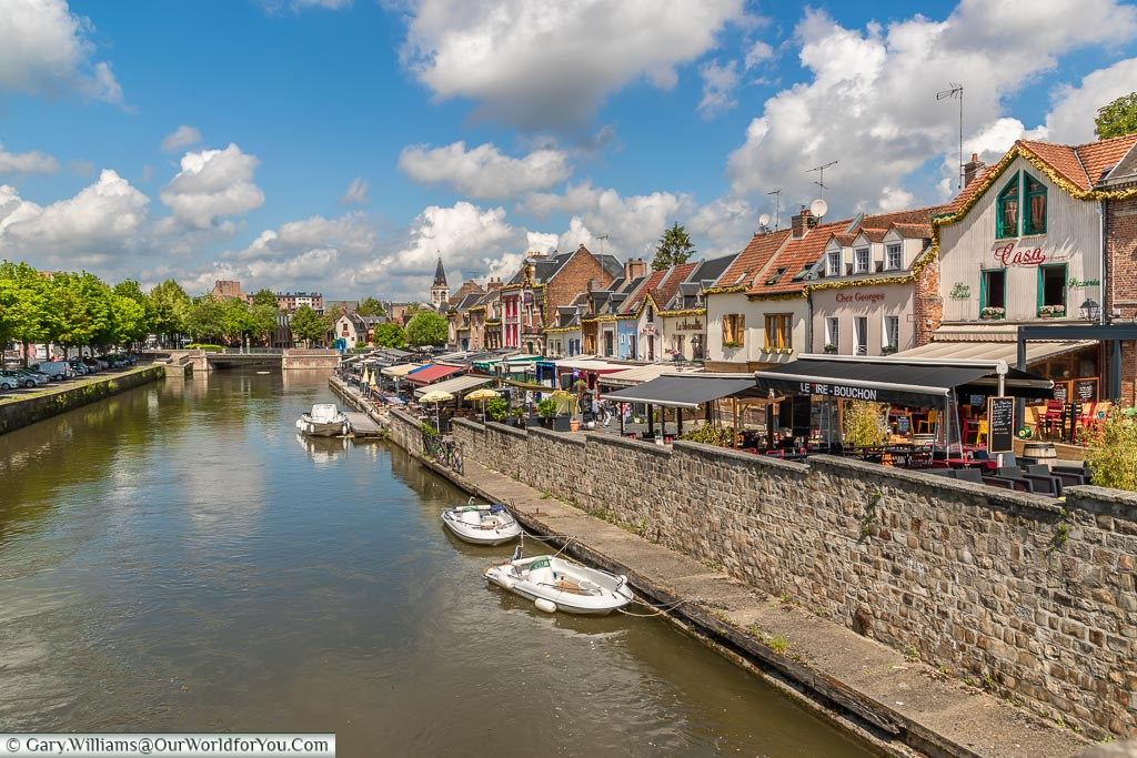 The River Somme, Amiens, France