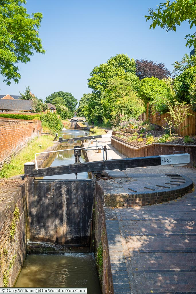 The Canal Locks, Stratford-upon-Avon, Warwickshire, England, UK