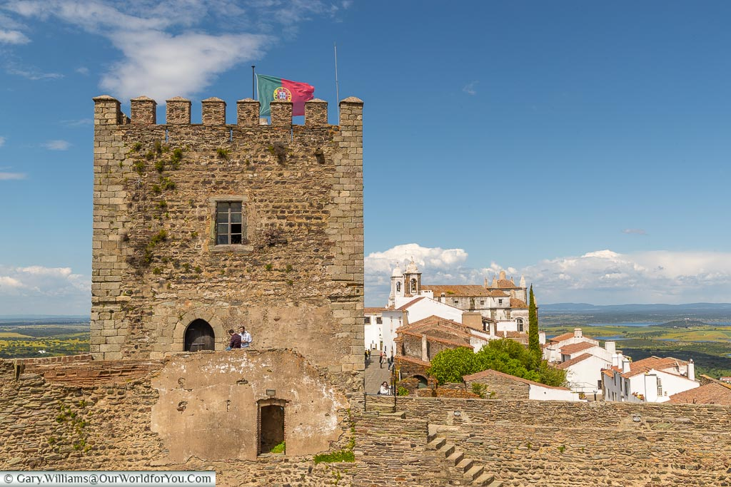 The Castle & town in the background, Monsaraz, Portugal