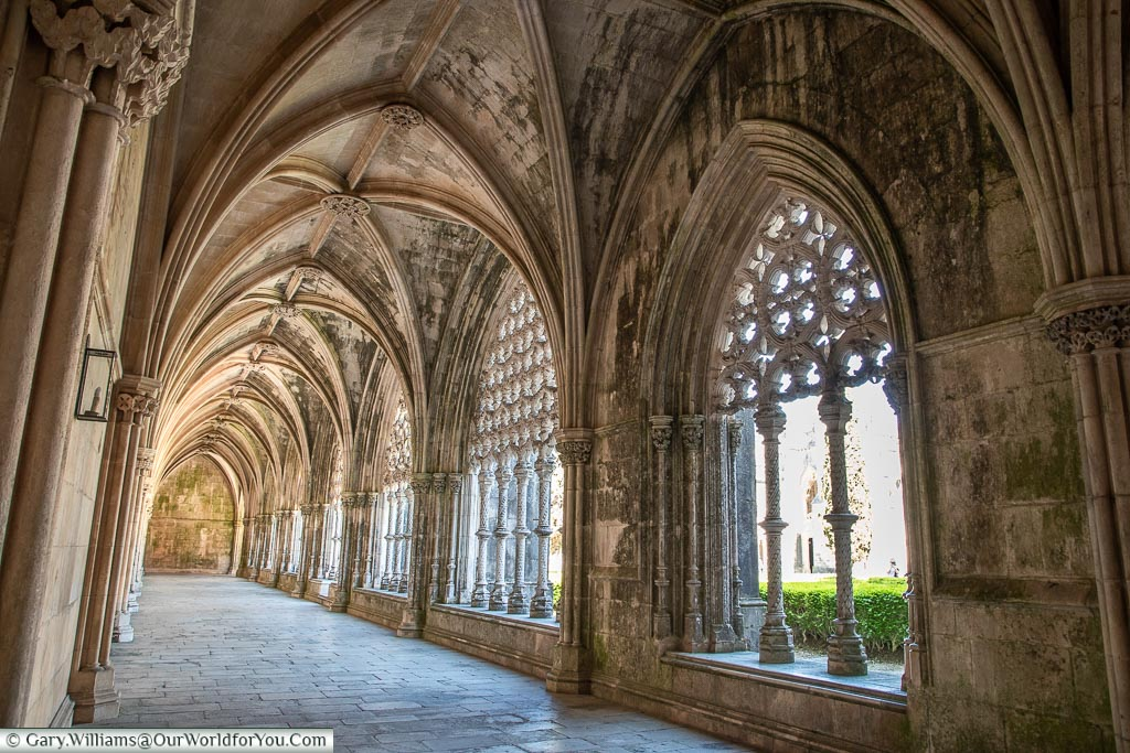The Gothic Arches, Monastery of Batalha, Portugal