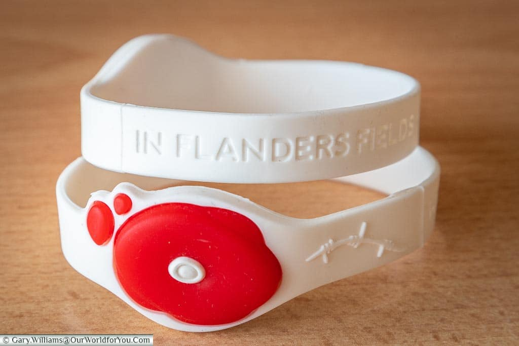 Your personalised wrist bands, Ypres, leper, Belgium